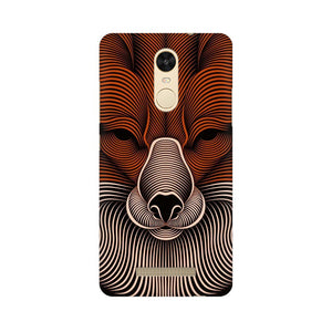 red fox xiaomi redmi note 3 mobile cover