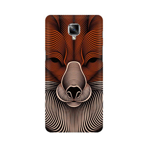 red fox oneplus three  mobile case