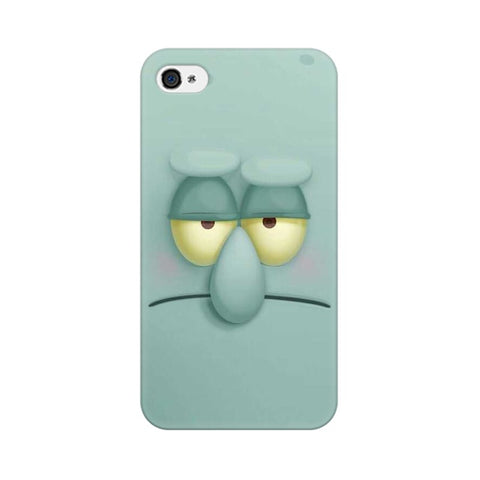 squidward apple iphone 4 mobile cover