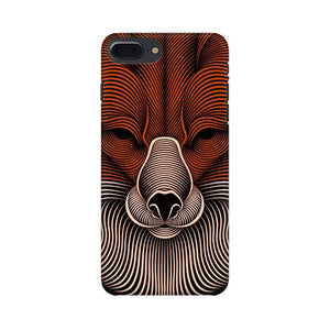 red fox apple iphone 8 plus mobile cover