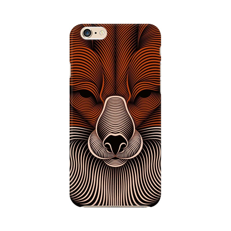 red fox apple iphone 6s mobile cover