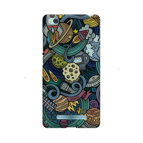 spacedoodle xiaomi mi 4i mobile cover