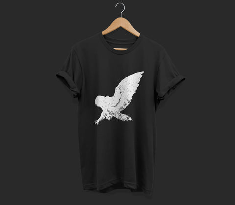 T-shirt Uil graphic t-shirt black shop now
