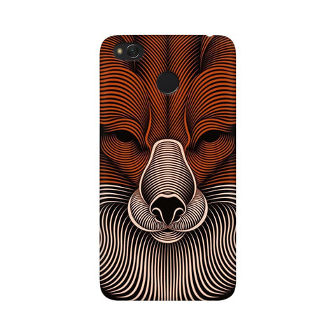 red fox xiaomi redmi 4 mobile cover