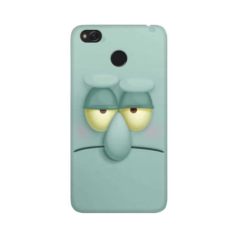 Squidward xiaomi redmi 4 mobile cover