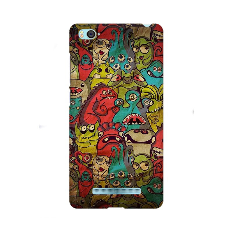 monsters jam xiaomi mi 4i mobile cover