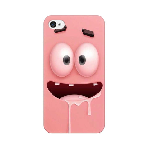 patrick apple iphone 4 mobile cover