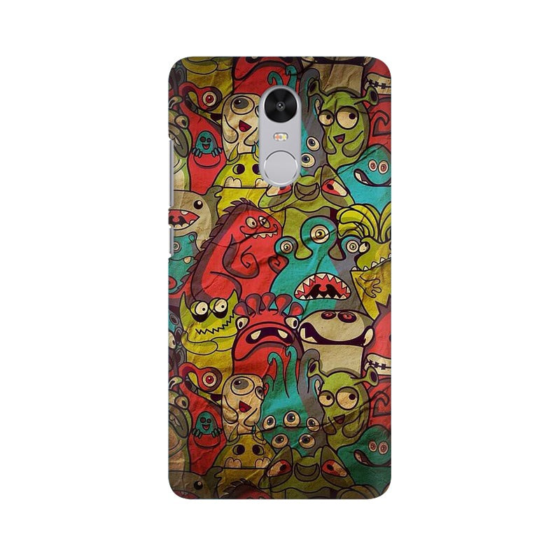 monsters jam Xiaomi Redmi Note 4 mobile cover