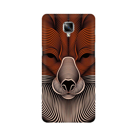 red fox oneplus 3t mobile cover