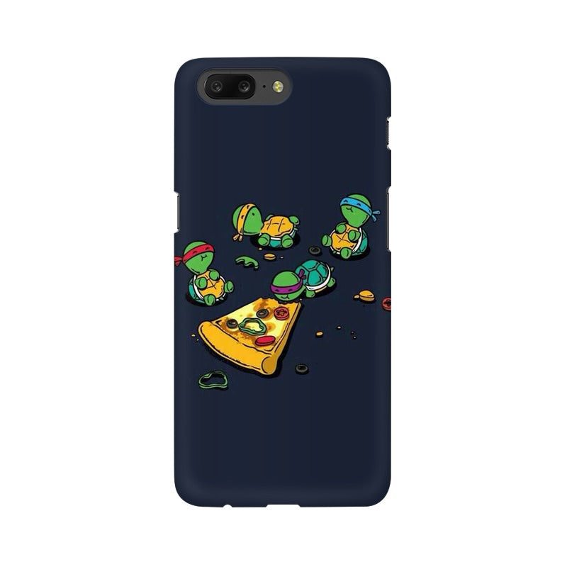 pizza time oneplus 5 mobile cover