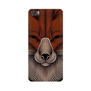 red fox xiaomi mi 5 mobile cover