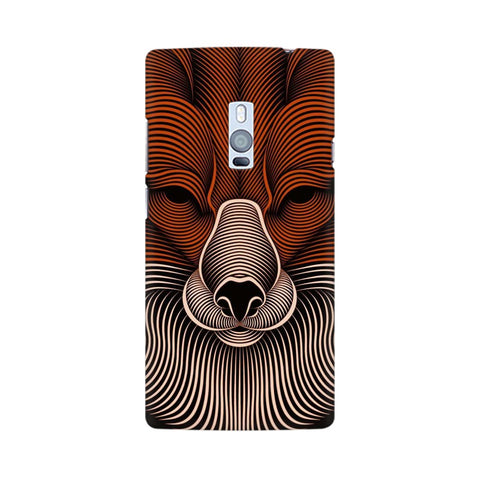 red fox oneplus two  mobile case