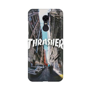 Thrasher xiaomi redmi note 5 mobile cover