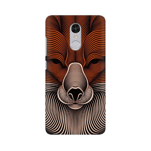 red fox xiaomi redmi note 4 mobile cover