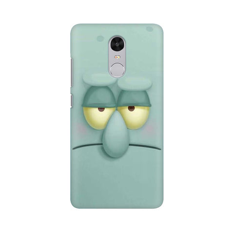 Squidward xiaomi redmi note 4 mobile cover