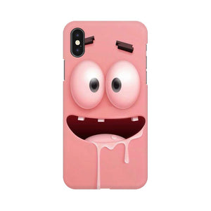 patrick apple iphone X mobile cover
