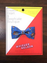"""Whisker Nelson"" Cat Bow Tie"