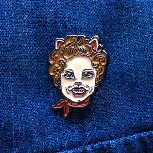 "Limited Edition ""Catsy Cline"" Enamel Pin"