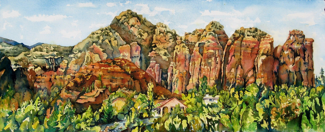 Coffee Pot Rock Sedona, Arizona