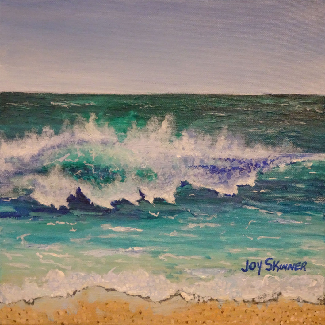 Curb Appeal a Florida seascape by artist Joy Skinner