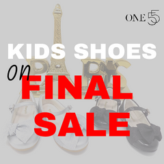 FINAL SALE - KIDS SHOES