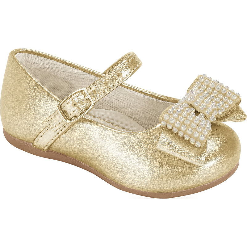 Angel Pearls III Shoe Gold  - Pampili