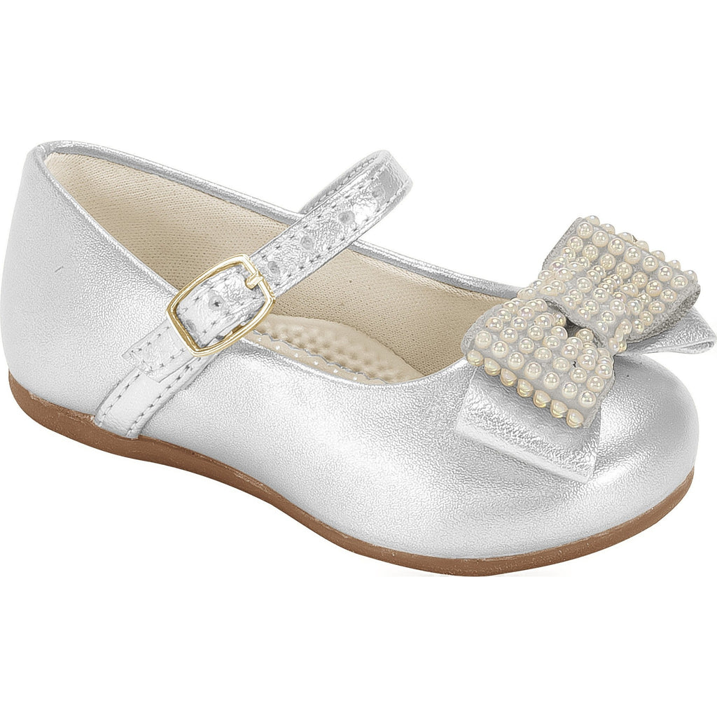 Angel Pearls III Shoe  Silver - Pampili