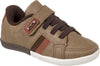 Boy's Klin Brown Baby Shoes Street Flyer Velcro
