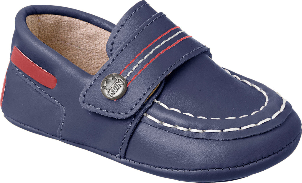 Baby First Steps Leather Loafers