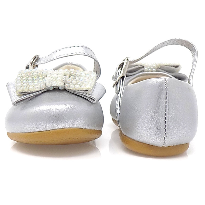 Angel Pearls III Shoes  Silver - Pampili