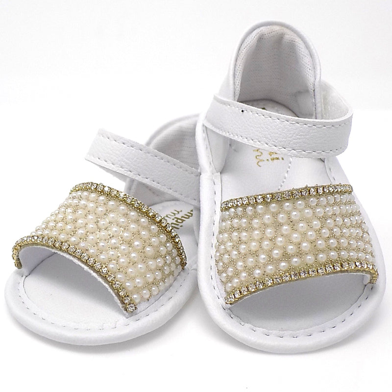 Extremely Flexible - White Chamomile Sandal - Pampili