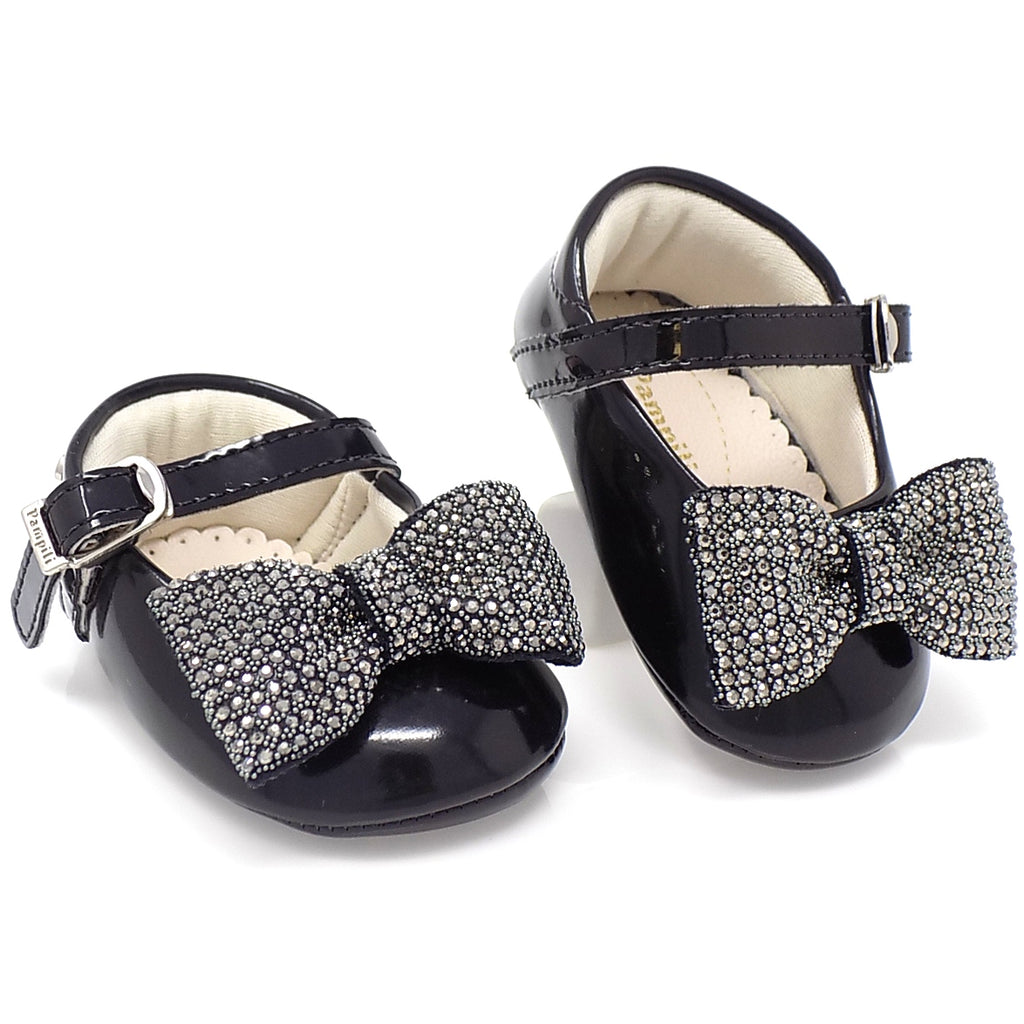 Hook-and-loop closure - Nina Ribbon Bow shoe - Pampili