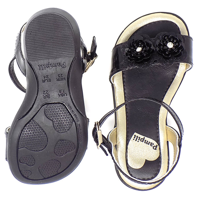 Rubber outsole - Kiss B/B Sandal - Pampili
