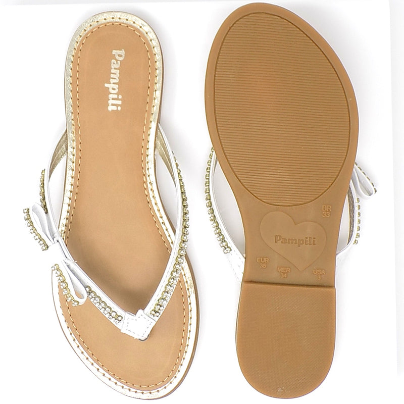 Rubber outsole - Cherrie Flip Flop - Pampili