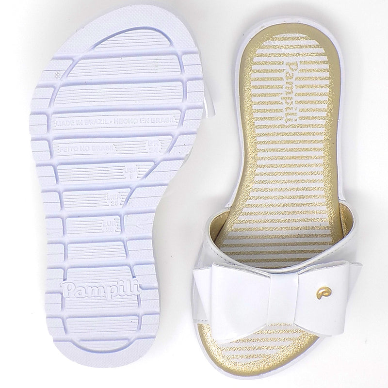 Rubber outsole - Candy Flop Flip flop Write - Pampili