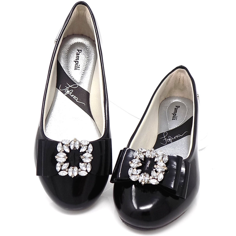 Black Super Cutie Fashion shoe - Pampili