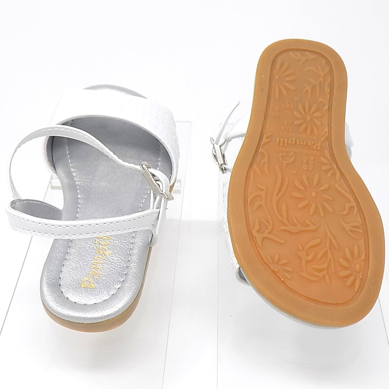 Rubber outsole - Pretty Basic Shine Sandal - Pampili