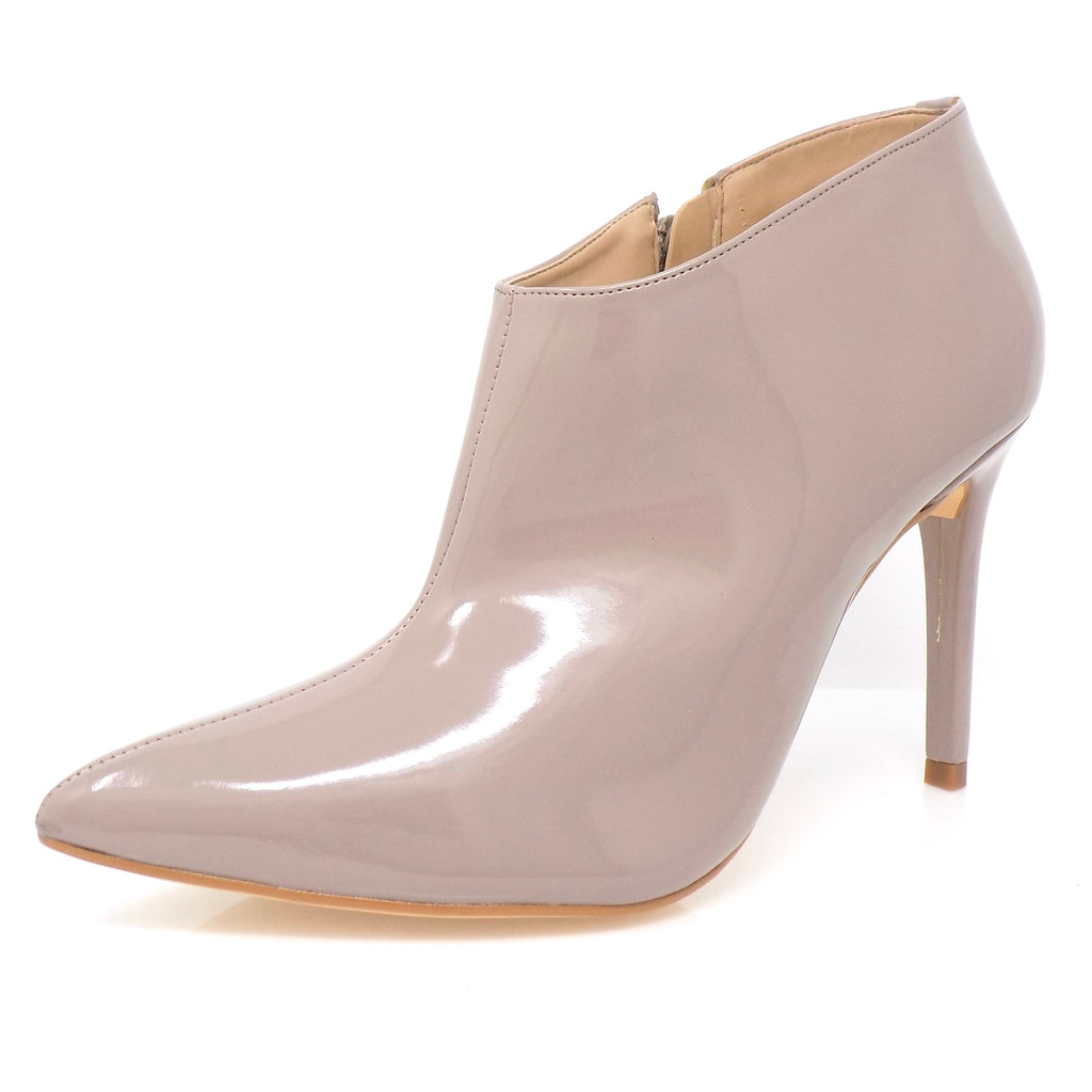 Light Brown Varnished Ankle Boot Stiletto Heel - ONE55 by Werner