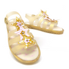 Gold Translucent Light Up Sandal