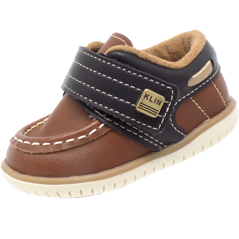 Moccasin Brown Baby Klin Clove Casual Dockside - ONE55 by Klin