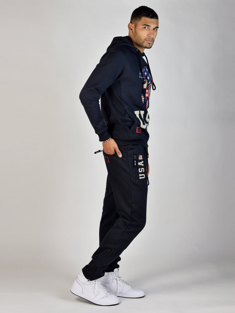 USA Teddy Grind Global Sweatpant (Navy)