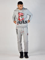 Japan Teddy Grind Global Sweatpant (Heather Grey)
