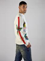 Jungle Bird Sweatshirt (Natural)