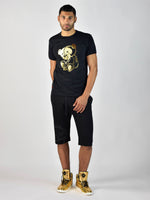 Teddy Foil T-Shirt (Black/Gold)