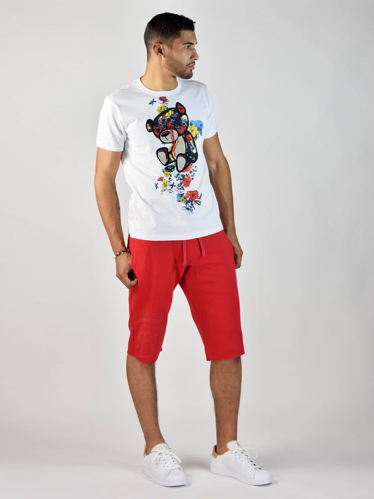 Teddy Rose T-Shirt (White)