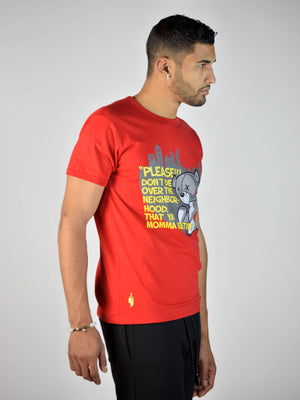 TEDDY DON'T DIE T-SHIRT (Red)