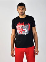 TEDDY DON'T DIE T-SHIRT (Black/Red)