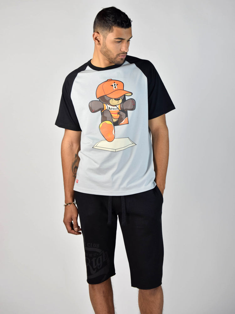 Teddy 2 The Plate T-Shirt (Grey)