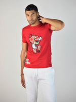 Japan Teddy Grind Global T-Shirt (Red)