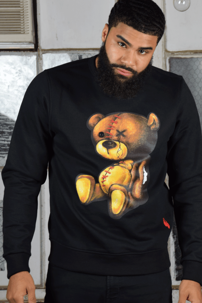 Colored Pencil Teddy (Black)
